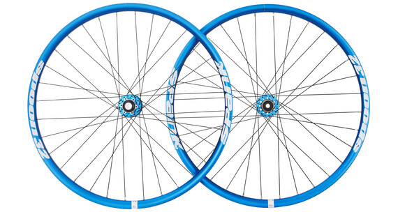 "Spank Spoon32 EVO - Roue - 27,5"" VR: 20/110 mm, HR: 12/150 mm bleu"